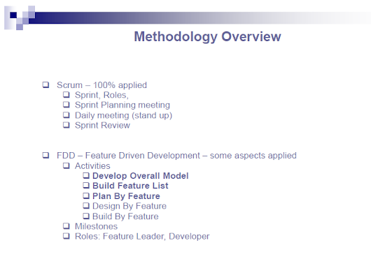 Test Mirror: An test strategy using SCRUM method in an outsourcing project