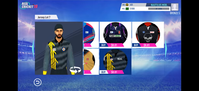 Real Cricket 19 Customization