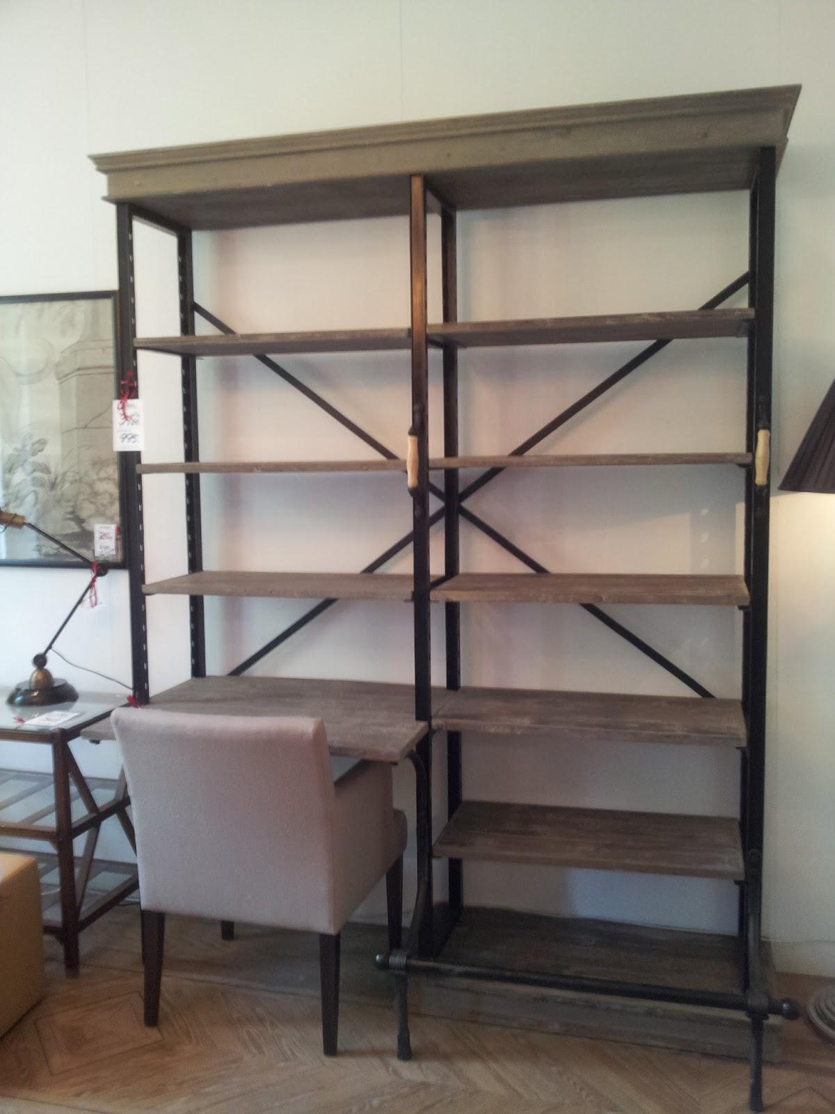 Marta decoycina hierro con estilo for Fotos de librerias de salon