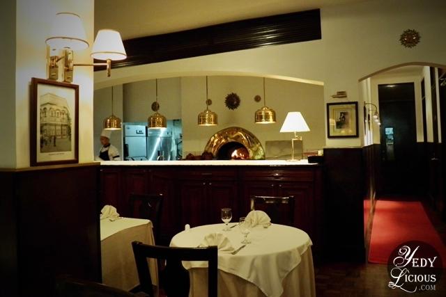 Caruso Italian Restaurant's Brick Oven Pizza