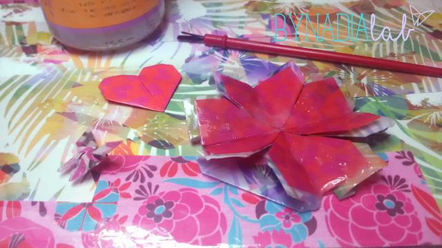 rifinitura origami bynadialab