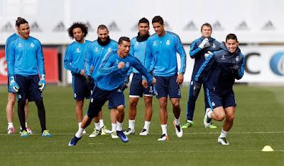 El Real Madrid de Zidane, se prepara para Intentar la Remontada