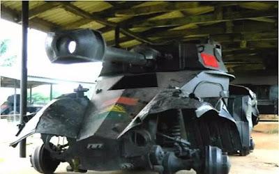 Biafran weapons