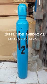 Tabung Nitrogen Dioksida