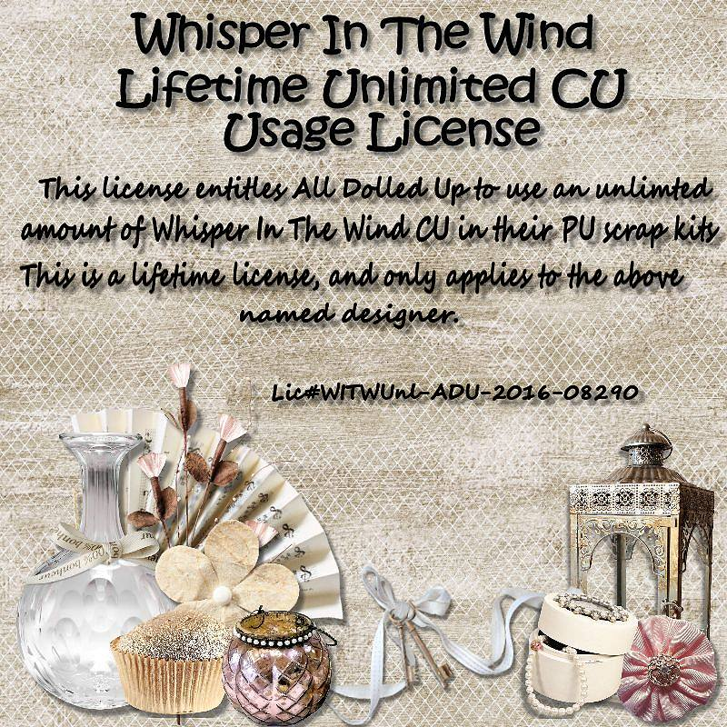 Whisper in the Wind License