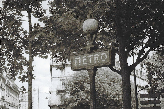 photo argentique paris metro