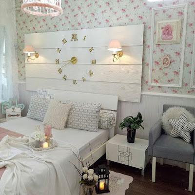 Contoh wallpaper dinding kamar tidur