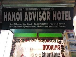menginap di hanoi advisor hotel