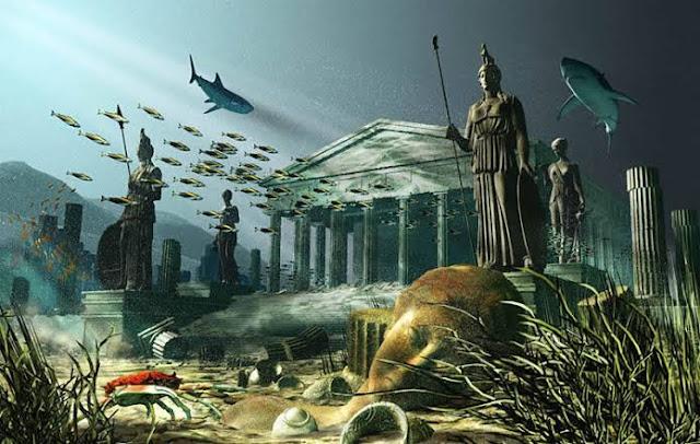 القارة الأسطورية المفقودة أطلانتس