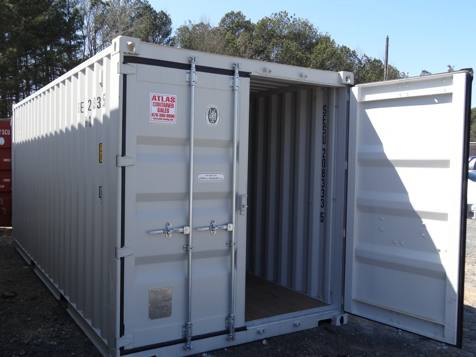 atlanta used shipping containers and semi trailers. Black Bedroom Furniture Sets. Home Design Ideas