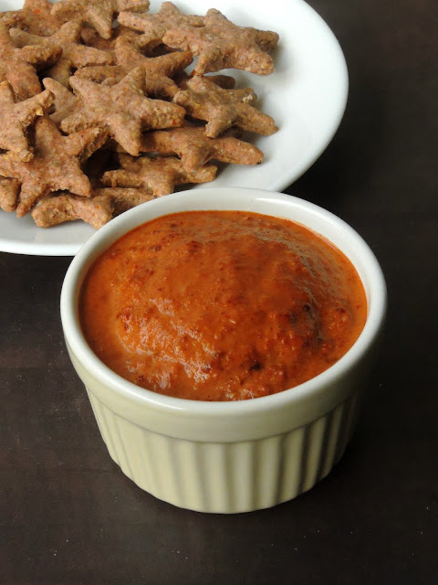 Cashew & Sun Dried Tomatoes Dip,Sun dried tomatoes Dip