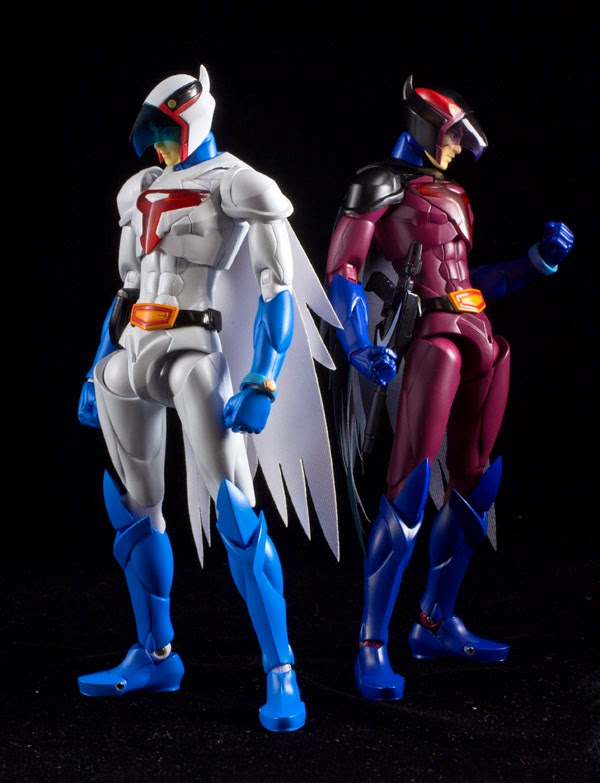& Super Punch: New Gatchaman/G-Force/Battle of the Planets figures