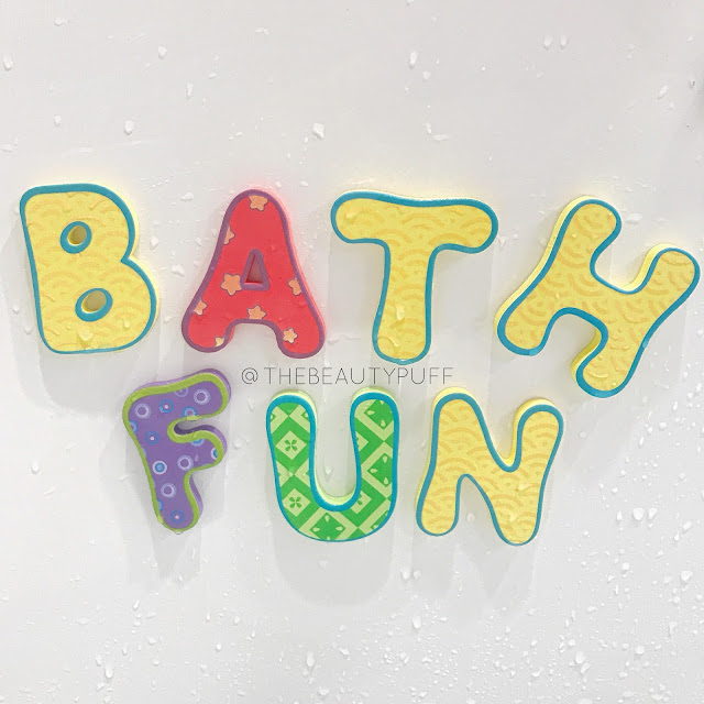 Nuby Bath Letters and Numbers  |  The Beauty Puff
