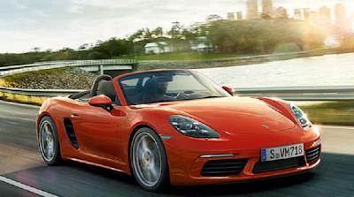 Mobil sports dengan konsumsi bahan bakar paling irit Porsche Boxter