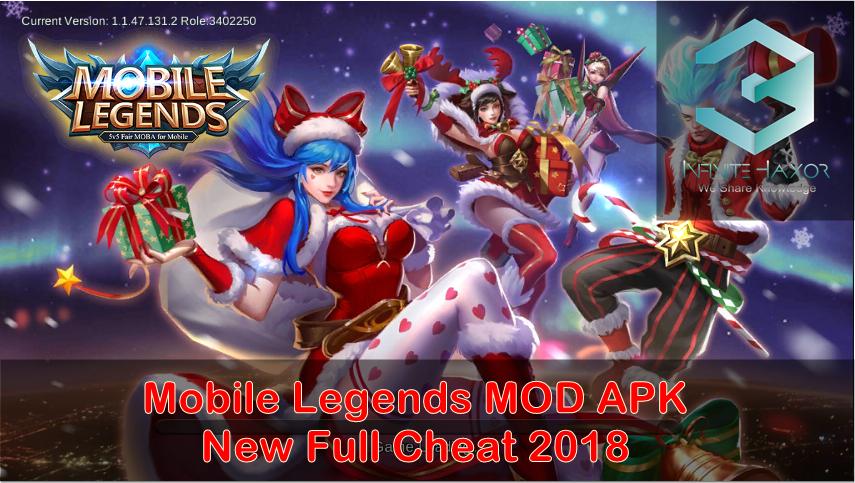 Mobile legend mod apk unlimited diamond 2018