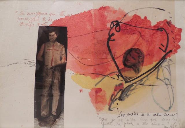 Modest Cuixart, arte catalan, dibujo surrealista, acuarela