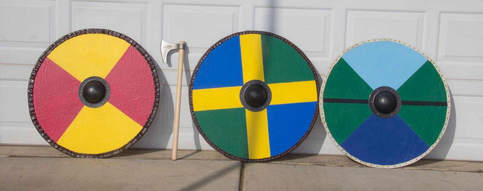 Kerk S Ramblings Making Viking Shields