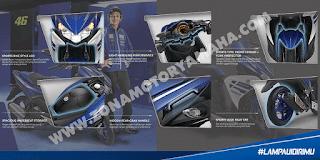 Fitur dan Spesifikasi Yamaha Aerox 125 LC