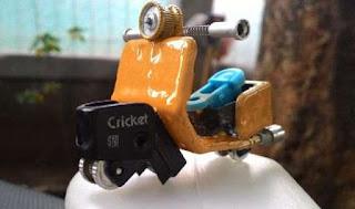 Cara Membuat Miniatur Vespa Unik Dari Korek Gas Bikin Miniatur