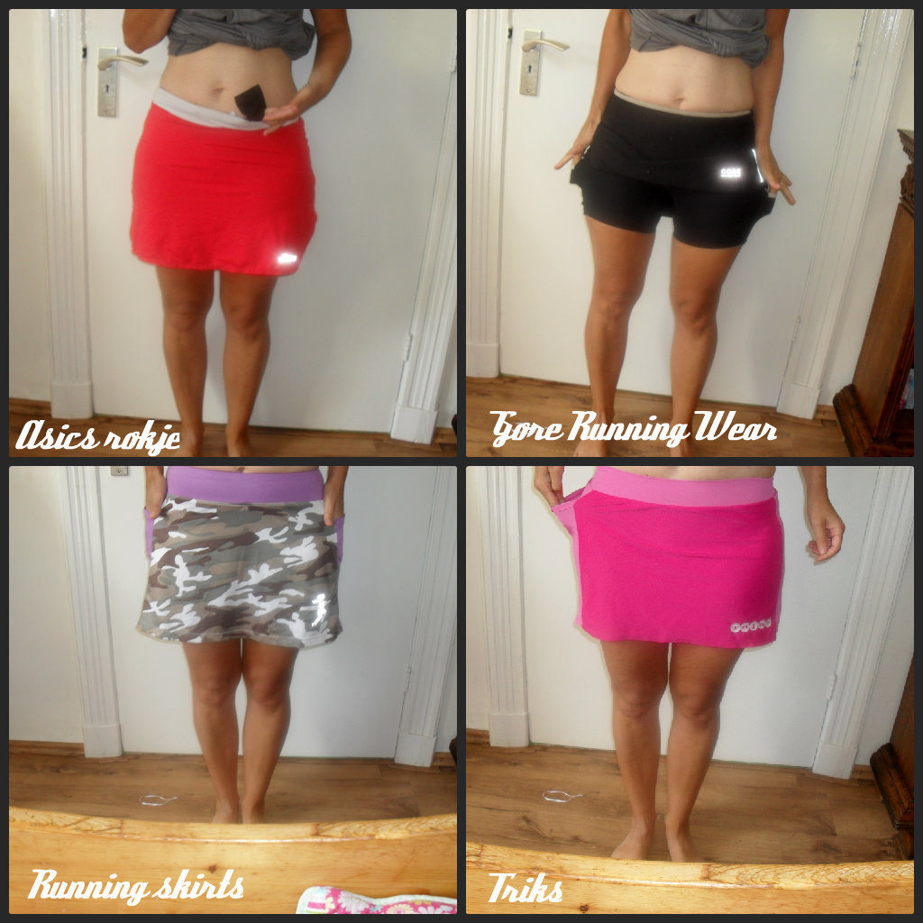 Running skirts: the importance of the right pocket placement