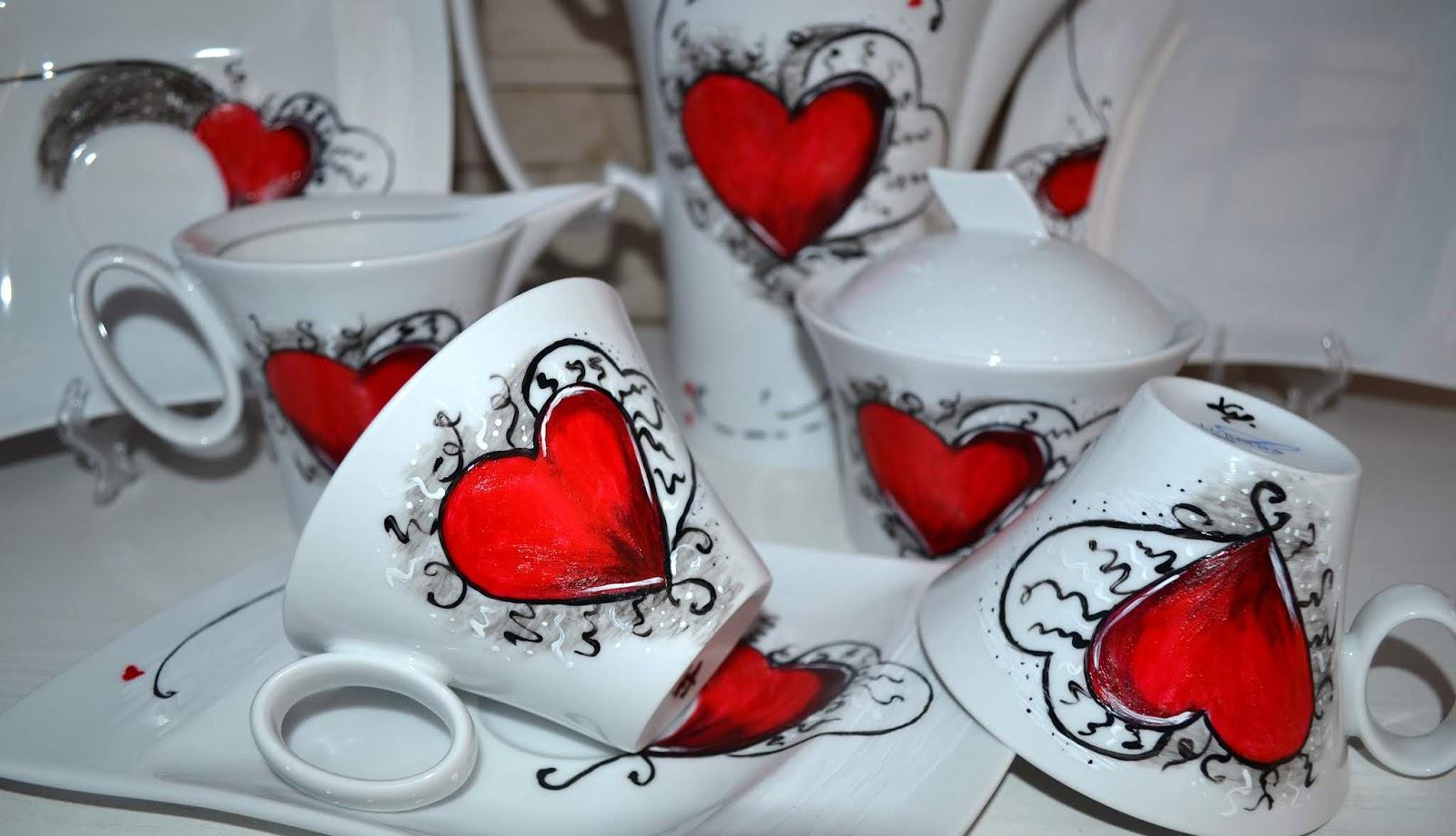 I ślubuję Ci... czyli porcelana na nową drogę życia
