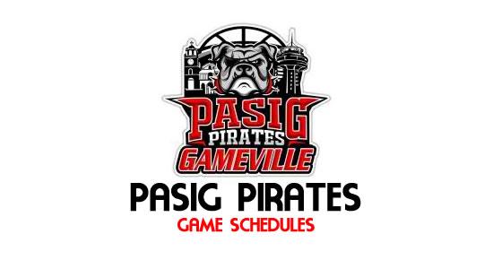 LIST: Game Schedule Pasig Pirates 2018 MPBL Anta Datu Cup