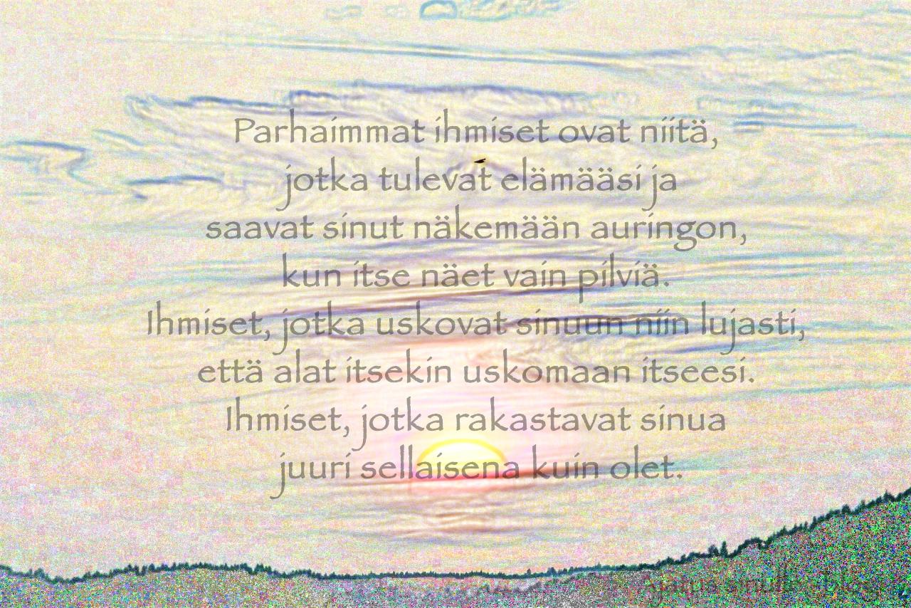 ystävyys aforismi Pietarsaari