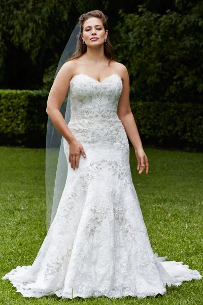 vestidos de novia para gorditas civil