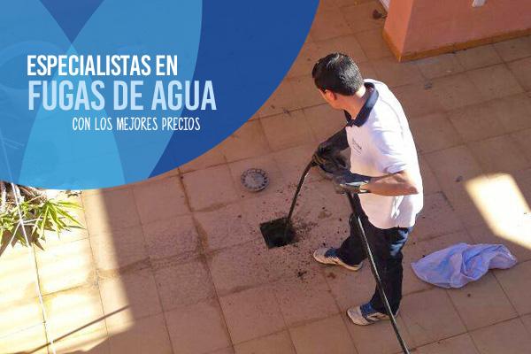 Fugas ocultas en Murcia