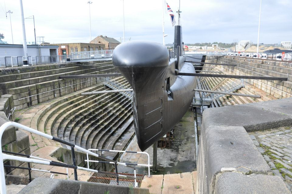 The Ocelot Submarine, Chatham Old Dockside