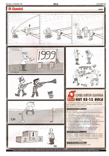 Si Gundul EDISI SELASA, 5 JANUARI 1999