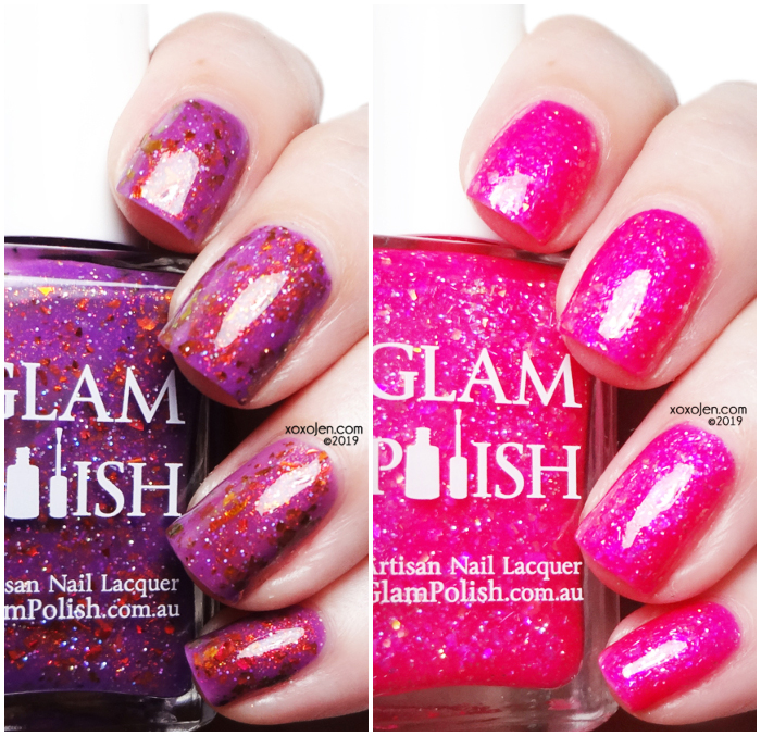 xoxoJen's swatch of Glam Geek - Special Edition Duo