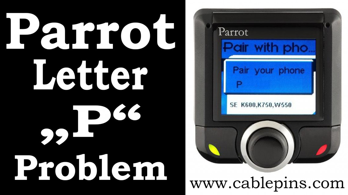 parrot 3200ls ck3200 serial cable