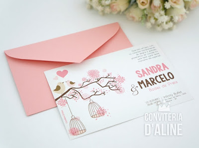 convite bodas prata noivado