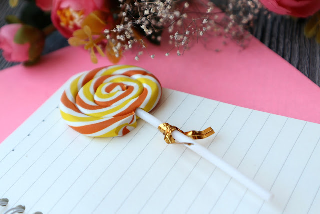 Colorful Sweet Lollipop Eraser