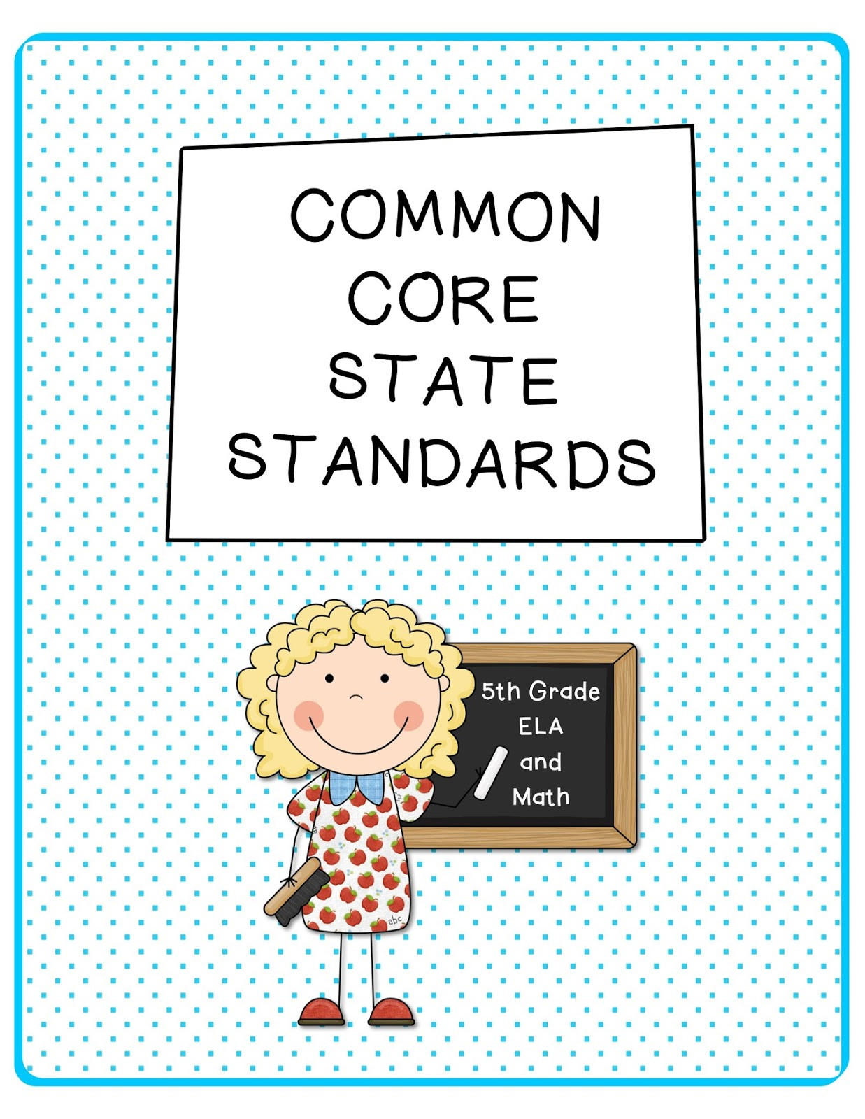 The Apple Tree Room 5th Grade Common Core Ela Amp Math Standards