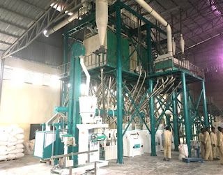 82tons Wheat flour mill plant was installed in Ethiopia