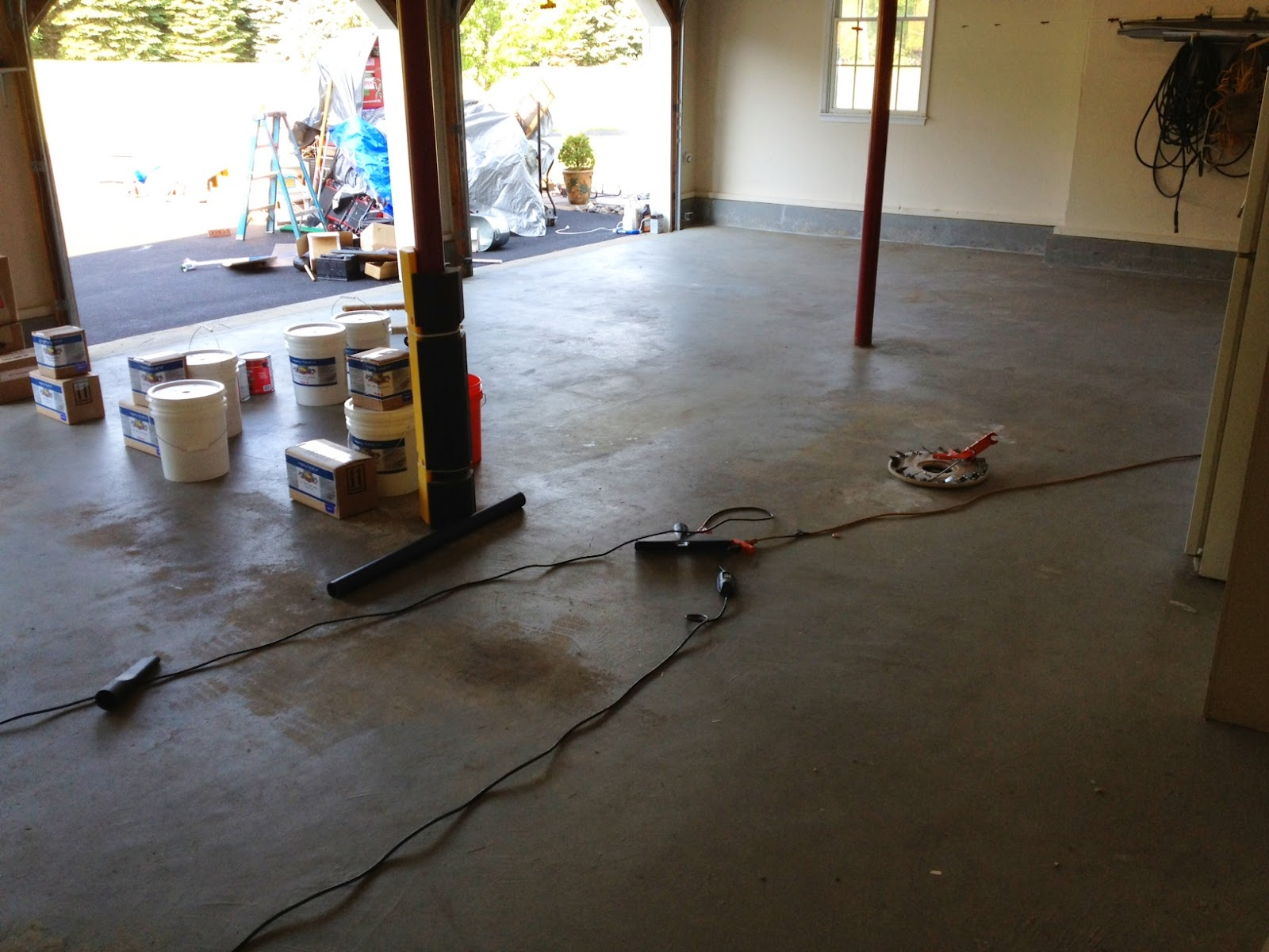 Self-Levelling Floor Coating