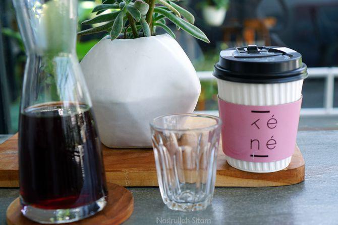 Pesanan di Kene Coffee House Jogja