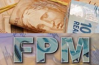 Municípios paraibanos recebem nesta terça-feira R$ 74,4 milhões de FPM