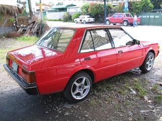 1986 Mitsubishi Lancer Box Type