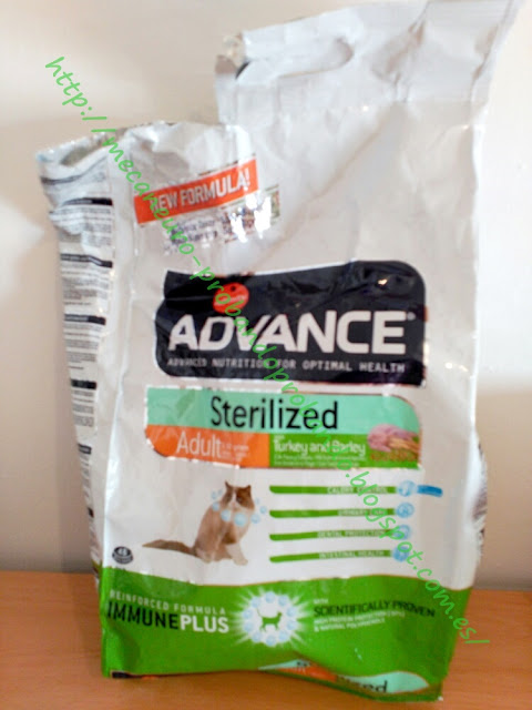 Affinity Advance Sterilized Adult pollo y cebada