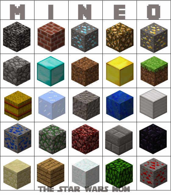 photograph about Minecraft Blocks Printable identify Minecraft Star Wars Multiplication Math Video game: MINEO - The