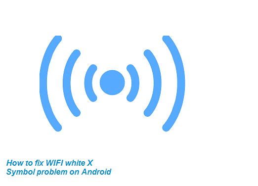 wifi ada tanda silang di android