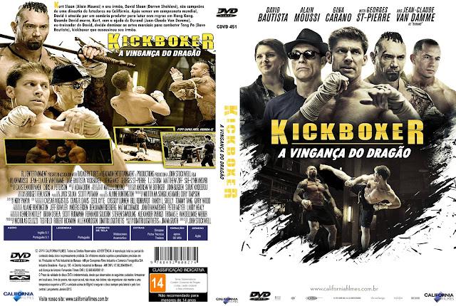 Capa DVD Kickboxer A Vingança Do Dragão
