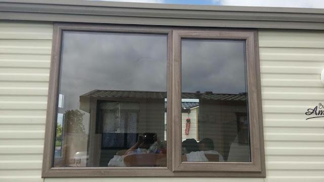 static caravan double glazing windows and doors