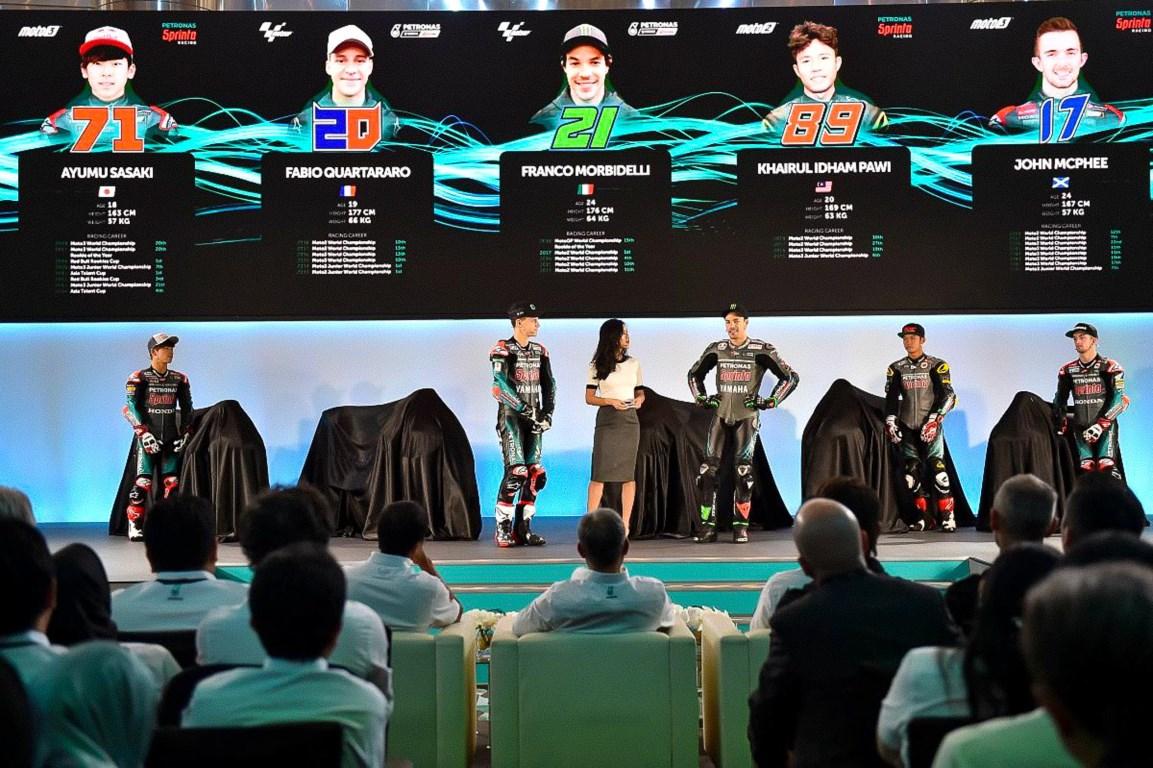 MotoGP : Tim Petronas Yamaha SRT resmi perkenalkan rider dan motor pertamanya di MotoGP 2019