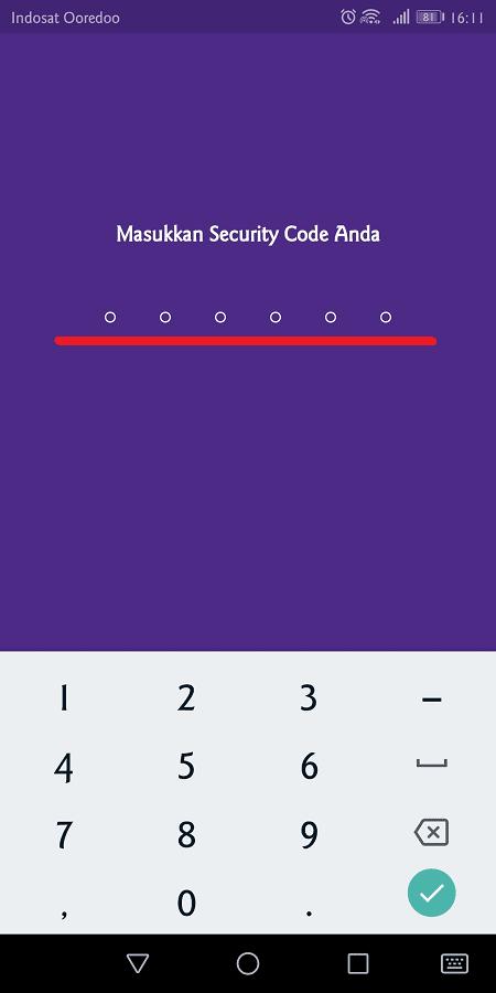pin dibutuhkan untuk memverifikasi setiap transaksi di aplikasi ovo