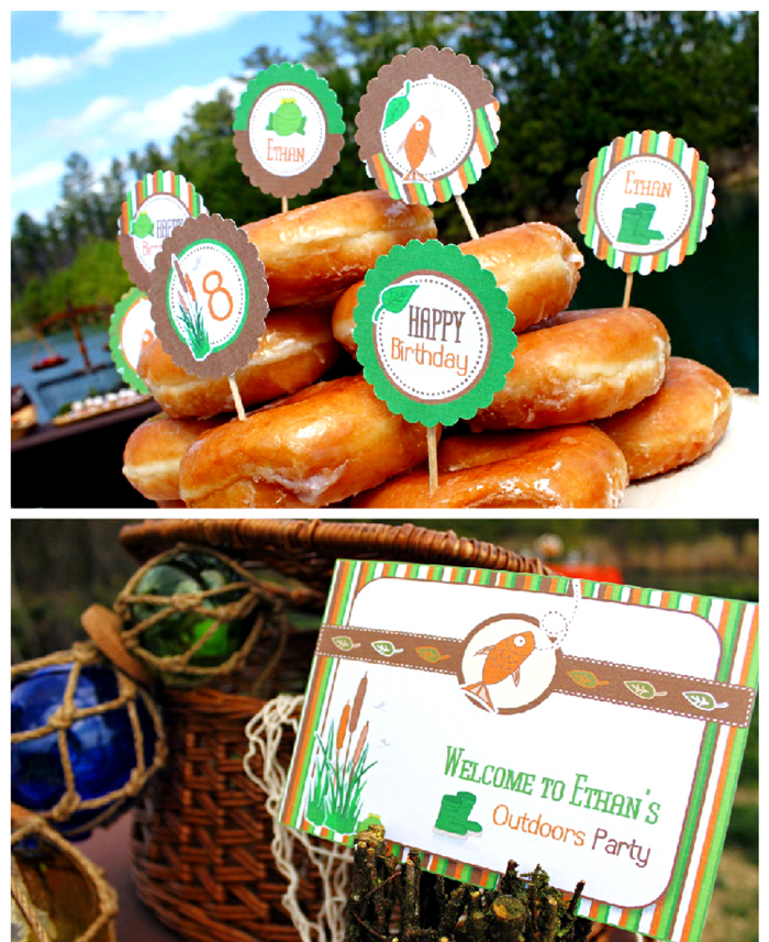 Little Outdoors-man Birthday Party - via BirdsParty.com