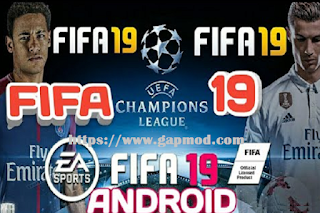 then to share this time I will give you the latest mod for you to try playing Download FIFA 19 HD Mod UCL Apk Data